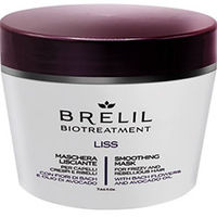 Brelil Bio Traitement Liss Smoothing Mask For Frizzy And Unruly Hair - Разглаживающая маска 1000 мл