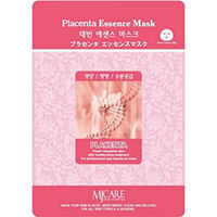 Mijin Cosmetics Essence Mask Placenta - Маска тканевая плацента 23 г