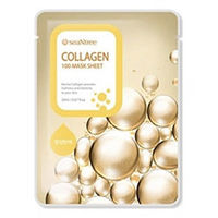 Seantree Collagen 100 Mask Sheet - Маска для лица тканевая с коллагеном 20 мл