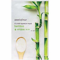 Innisfree My Real Squeeze Mask Bamboo - Маска для лица тканевая (бамбук) 20 мл