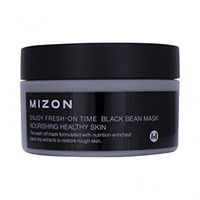 Mizon Enjoy Fresh-On Time Black Been Mask - Маска для лица (черные бобы) 100 мл