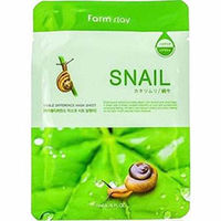Farmstay Visible Difference Mask Sheet Snail - Маска тканевая с экстрактом улитки 23 мл